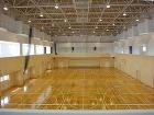 北里大学十和田キャンパス体育館 アリーナ