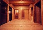 伝統構法の居間