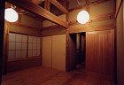 伝統構法の寝室