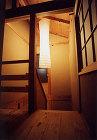 伝統構法の階段