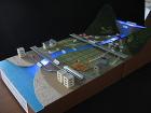 ダムの説明模型