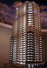 高層マンション展示模型