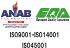 ISO 9001.ISO 14001.ISO45001