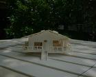 白州町 別荘 スタディ模型