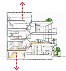間口2.4mの家 /05works/006/6_06.jpg