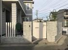 清瀬市 M様邸 白で統一されたクローズ外構 新築外構