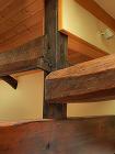 古民家再生 木造リフォーム 接ぎ木の補強