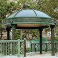 FRP ギリシャ建築 ギリシャ柱 例 (コリント式の円柱 ガゼボ:西洋風の東屋)