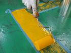 刷毛・ローラーで床塗装