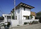 西条:2階がリビングの借景の家 愛媛県松... 西条の家