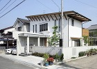 西条:2階がリビングの借景の家|愛媛県松... 西条の家