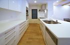 キッチン施工例 サンキ建設