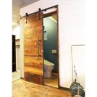古材専門店 |Redbarn wood|... アイアンレール式・WCドア