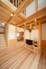 岐阜で無垢の木の家を建てる工務店 カネダ... modelhouse/images/1r.jpg