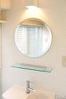 共同住宅洗面室の取付例