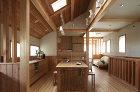 東京都杉並区で地熱と珪藻土を利用したエコ住宅