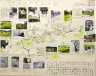 作品:谷上の大みぞの地図