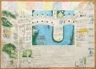 作品:ぼくの通学路マップ