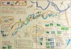 作品:七瀬川の今・昔地図