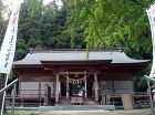 熊野神社 拝殿 【菅原木工 神社施工例】