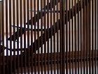 クロスケの家 母屋 階段・木製格子