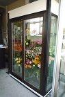 ガラス冷蔵庫 施工事例 | サンワイズ株... 花屋ショーケース1