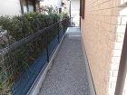 千葉市緑区フジガーデン|外構工事施工例 シンプルモダン 外構