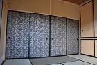 軒の出5尺・京からかみ・造り家具多数の桜... sakuragawanoie/yozakura2.JPG