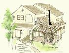 vidafeliz設計の新築住宅 Y邸イメージパース