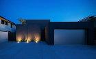 大阪府堺市北区に建つ中庭のある家の内観写真