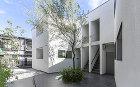 大阪府大阪市に建つデザイナーズ賃貸住宅の外観写真