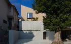 兵庫県神戸市東灘区にある戸建て住宅の外観実例写真