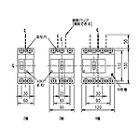 三菱電機[ノーヒューズ遮断器(ブレーカー)] NF125-SV