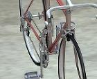 自転車 上面図