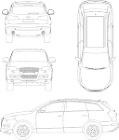 Audi_Q74車CADデータ