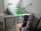 五右衛門風呂施工例(我が家自慢の五右衛門... 直焚浴槽 DH-110 ライトグリーン