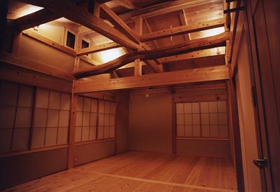 木組みと土壁 伝統工法の家 深田真工房