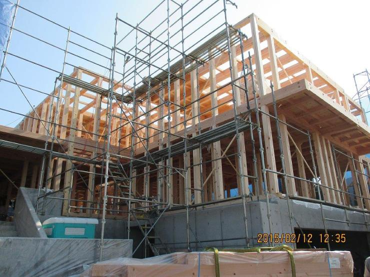 株式会社 三愛建設|施工例|5寸柱の家