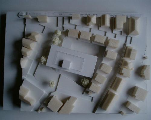 横浜市 新築 福祉施設 スタディ模型