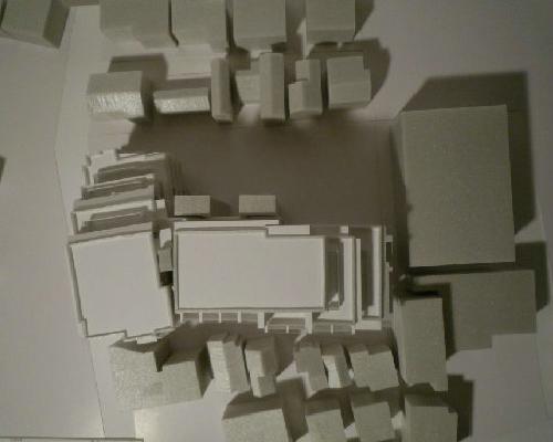 横浜市 集合住宅 スタディ模型