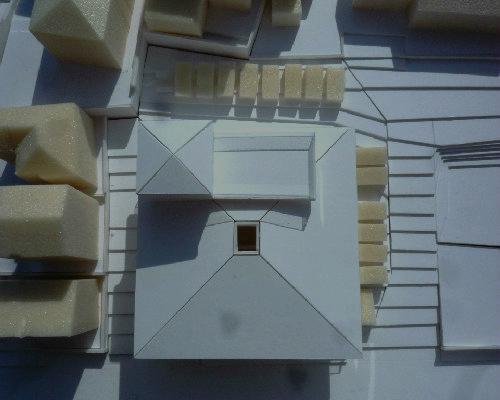 横須賀 新築 福祉施設 ボリューム模型