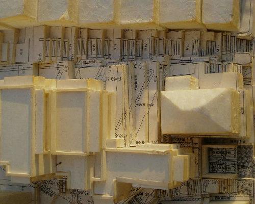 横浜市 建替計画 集合住宅 ボリューム模型
