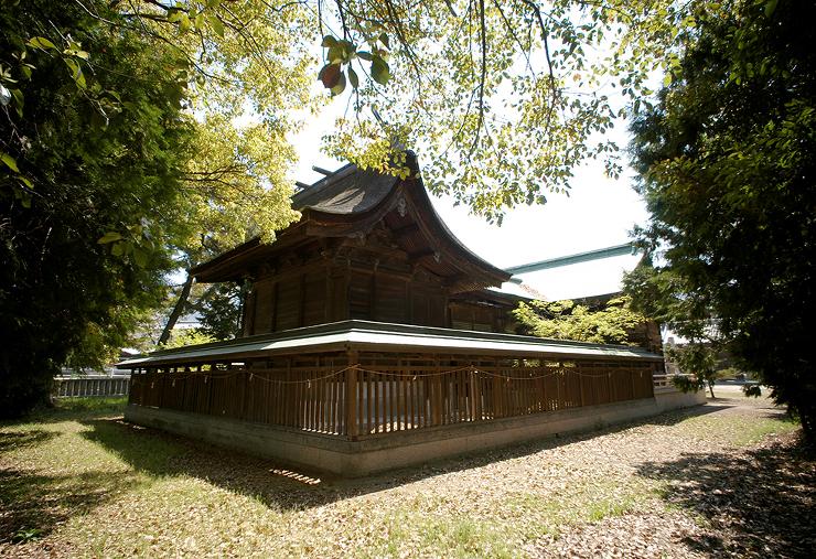 履脱八幡神社 | 社寺 | 竣工作品 |...