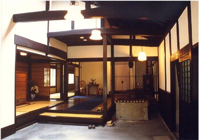 古民家の再生…中仙道の料亭