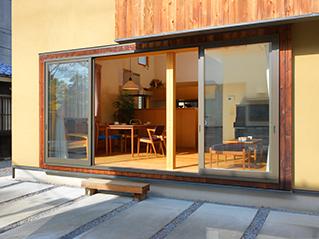 北欧デザイン 日本家屋