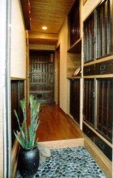 世田谷区のマンション全面リフォーム 古材を再利用した民家のような和の空間