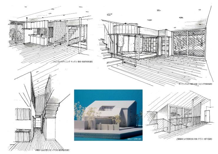 O邸計画-2 | 一級建築士事務所 mn...