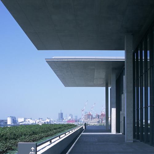 兵庫県立美術館 + 神戸市水際広場, 兵庫県神戸市, 1997-2001