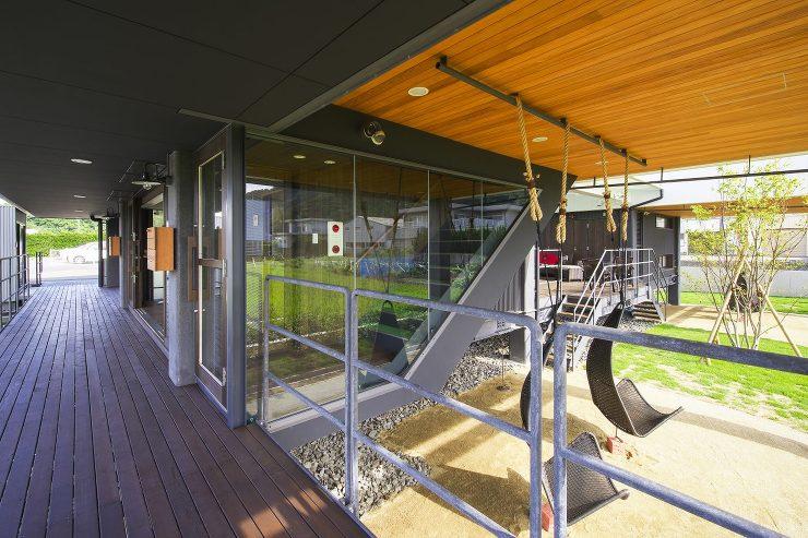 高床の家    フィールド建築設計舎