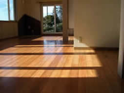 Flooring of Japanese cypress